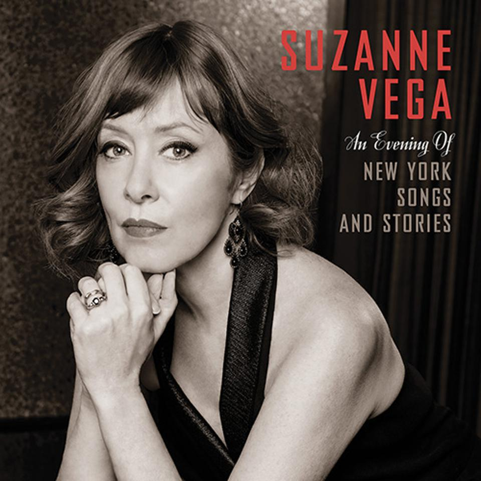 Cover of Suzanne Vega's 'An Evening of New York Songs and Stories.'