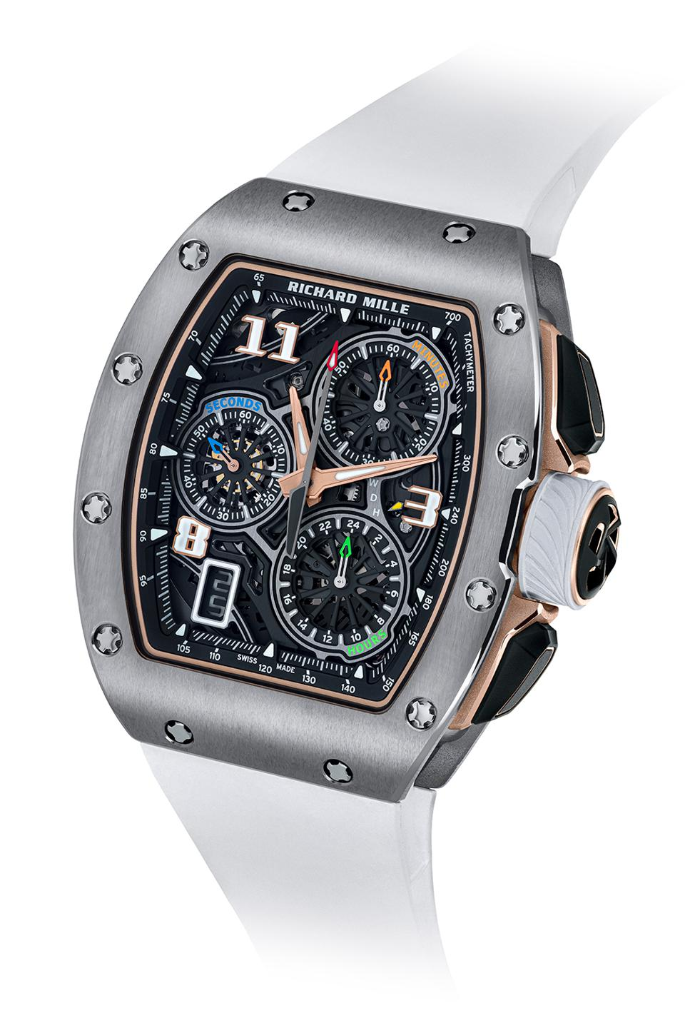The Richard Mille RM 72-01 Lifestyle In-House Chronograph.