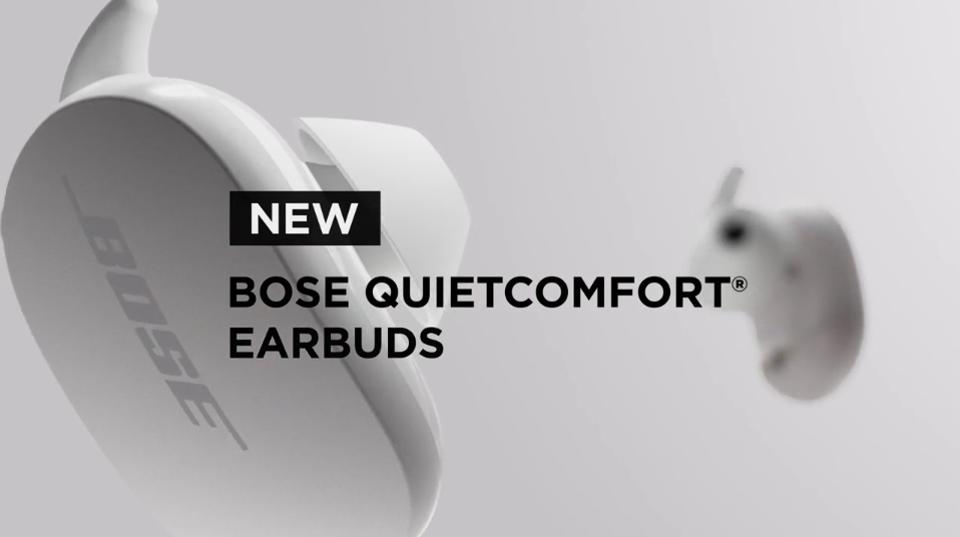 Bose's AirPods Pro challengers leak with a new name: QuietComfort Earbuds.