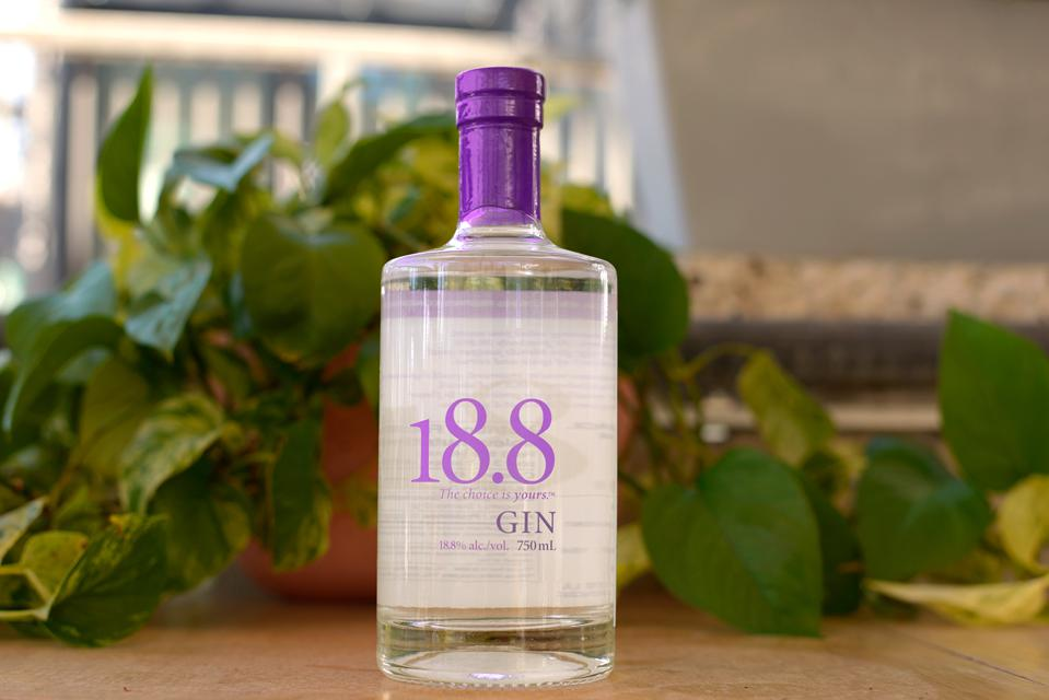 Bottle of 18.8 Gin