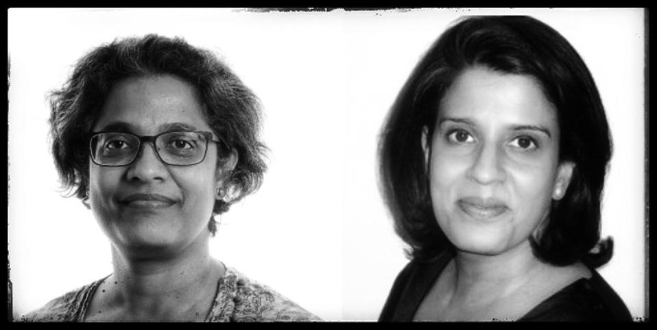 Professors Supriya Garikipati and Uma Kambhampati, of Liverpool and Reading Universities, respectively.