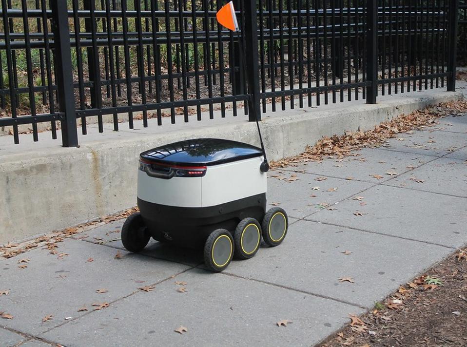 Postmates delivery robot