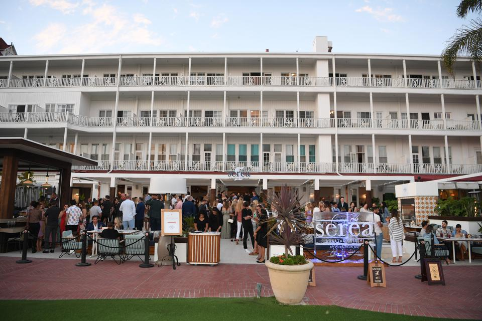 Serea Restaurant Grand Opening By Clique Hospitality At The Iconic Hotel Del Coronado In San Diego