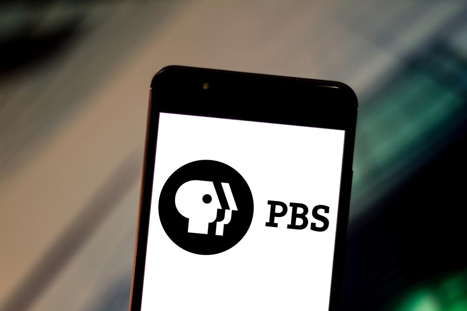 In this photo illustration the Public Broadcasting Service (...