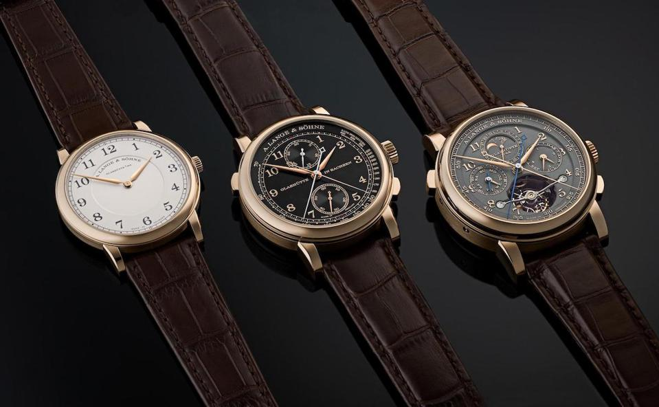 A. Lange & Sohne 175 Years Homage To F.A. Lange watches