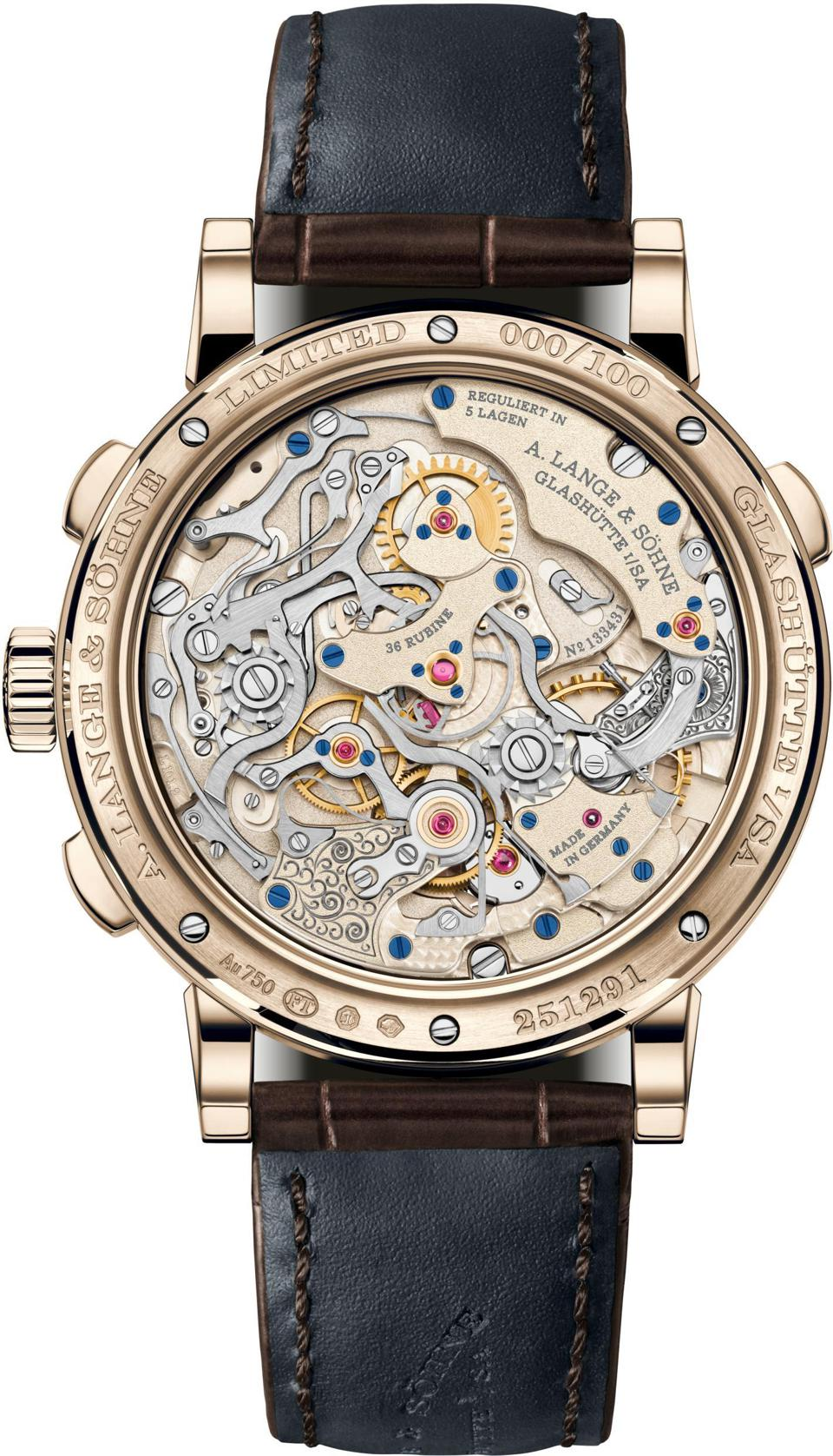 A. Lange  &  Söhne Rattrapante Honey Gold, Watches & Wonders Shanghai