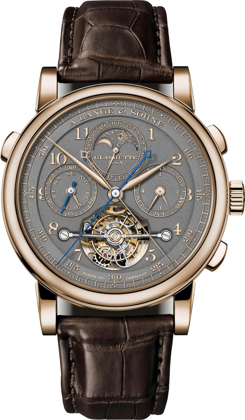 A. Lange  &  Söhne Turbograph Perpetual Calendar ″175th Homage to F.A. Lange″ watch