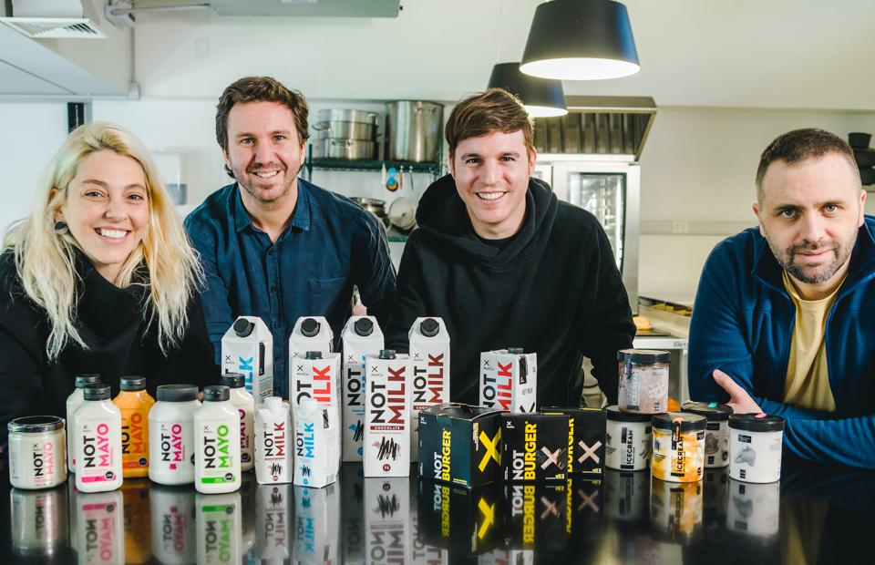NotCo is a Latin American food-tech company that develops plant-based protein.