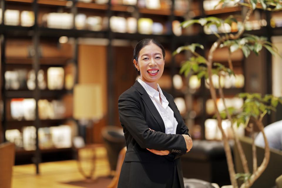 Maki Akaida, CEO of Uniqlo Japan.