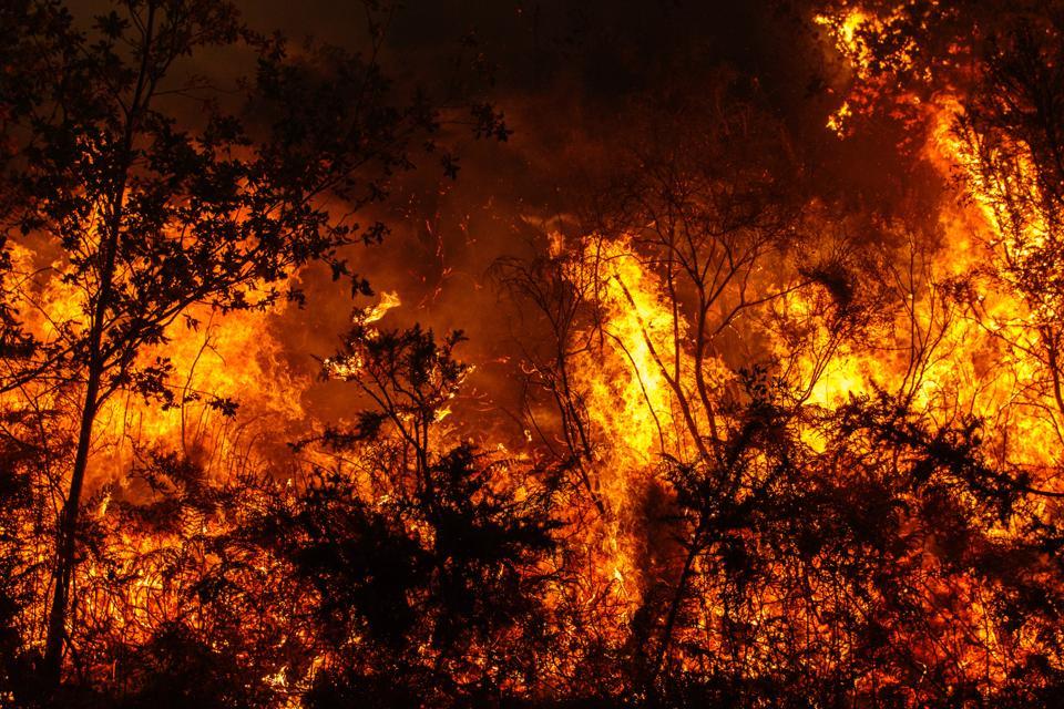 Galicia fire