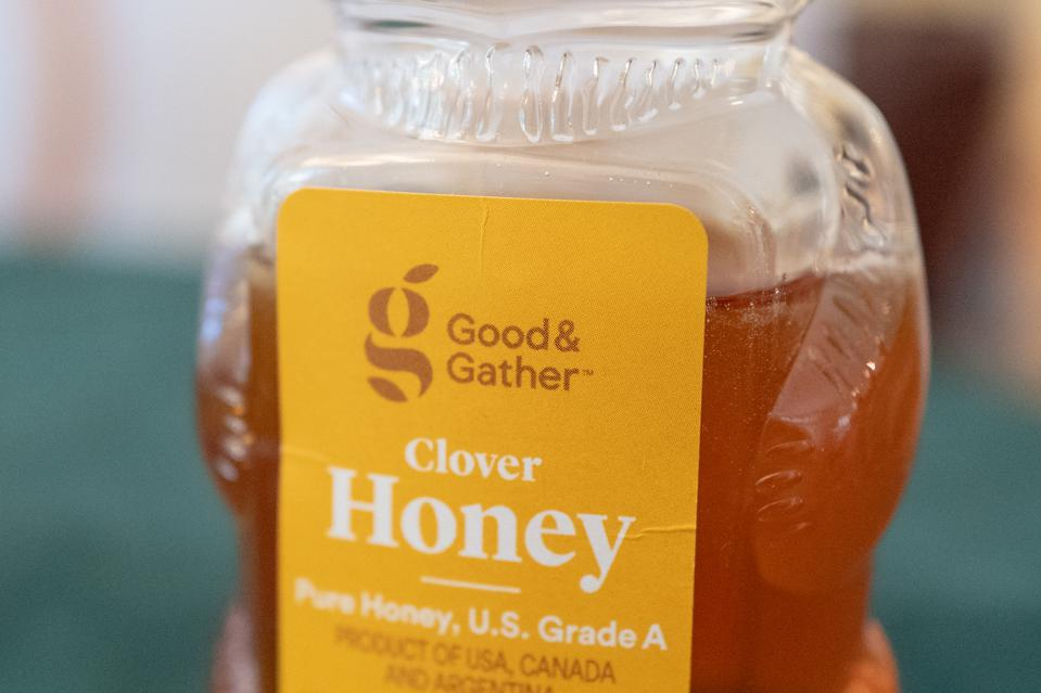 Honey from Good & Gather, a white label store brand of retailer Target