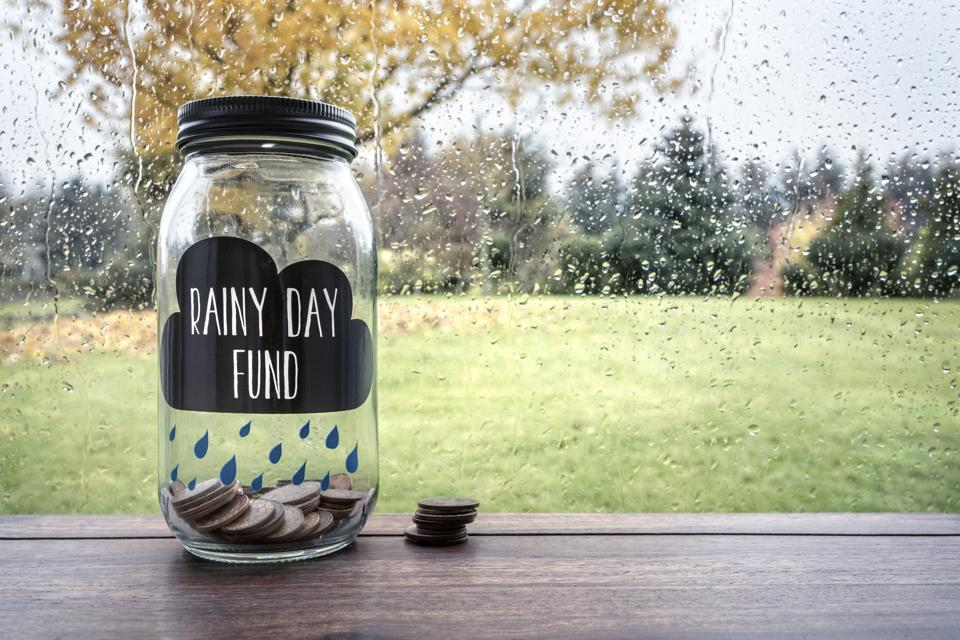 Savings for a rainy day fund