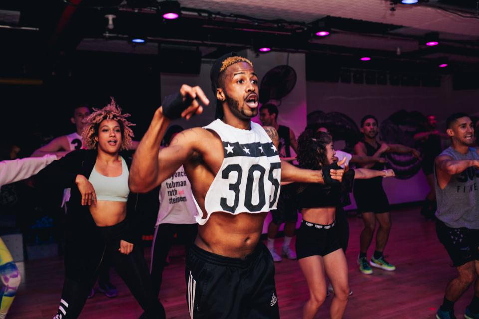 305 Fitness is inspired by Miami nightclub vibes, but is based in and largely operates out of New York City.