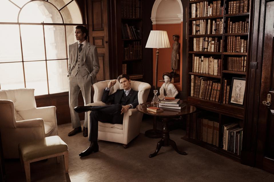The Kingsman collection embraces chic tailoring from the 1910s
