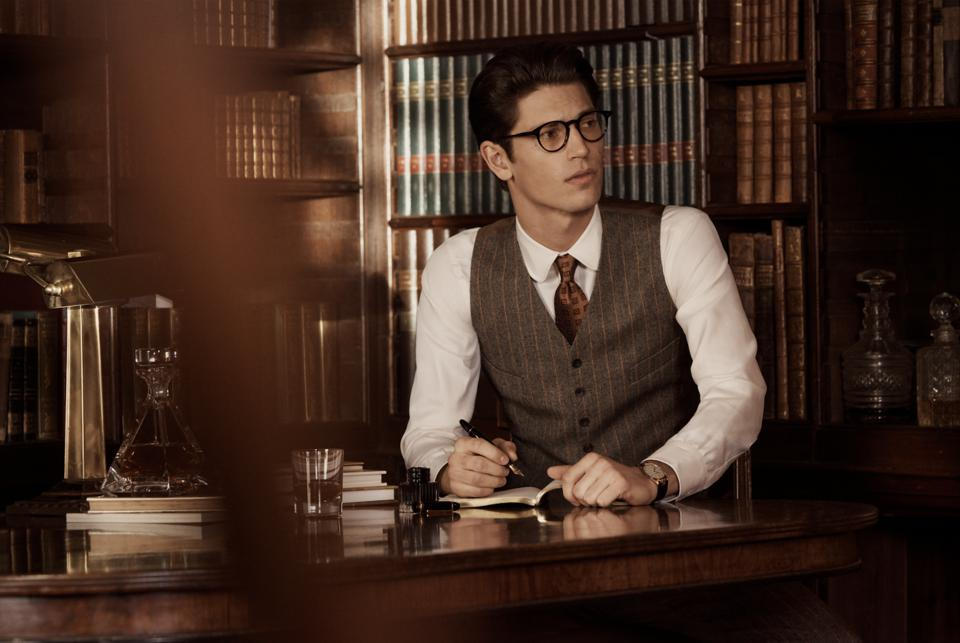 A look from the Kingsman collection