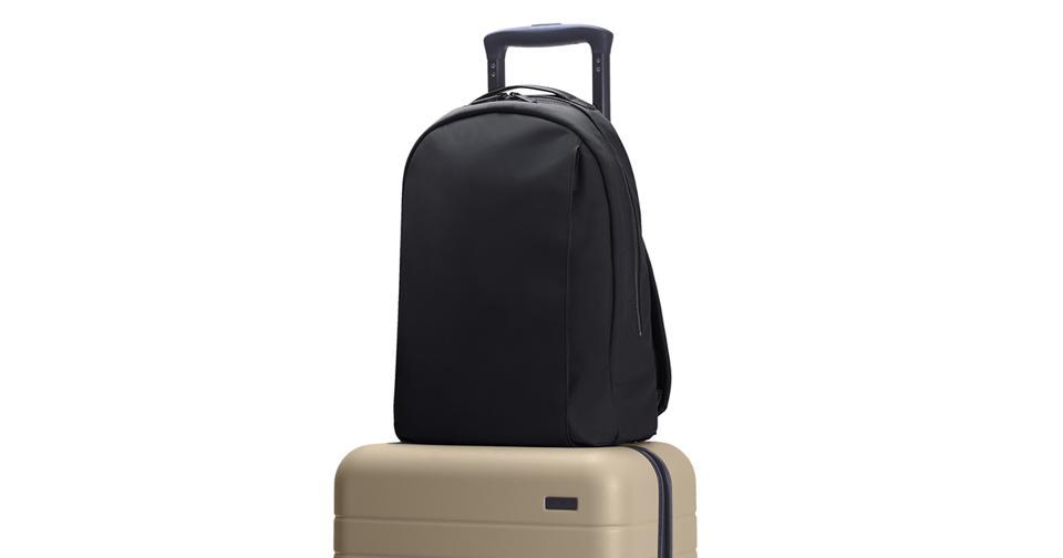 Away the Daypack in black
