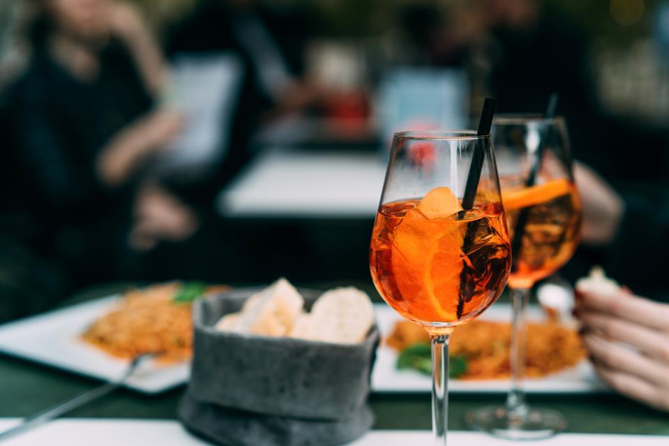 Spritz cocktail aperitivos