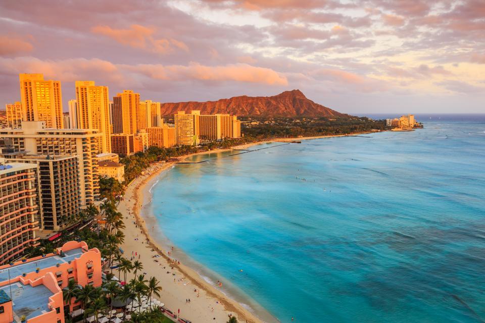 Honolulu, Hawaii. Waikiki.