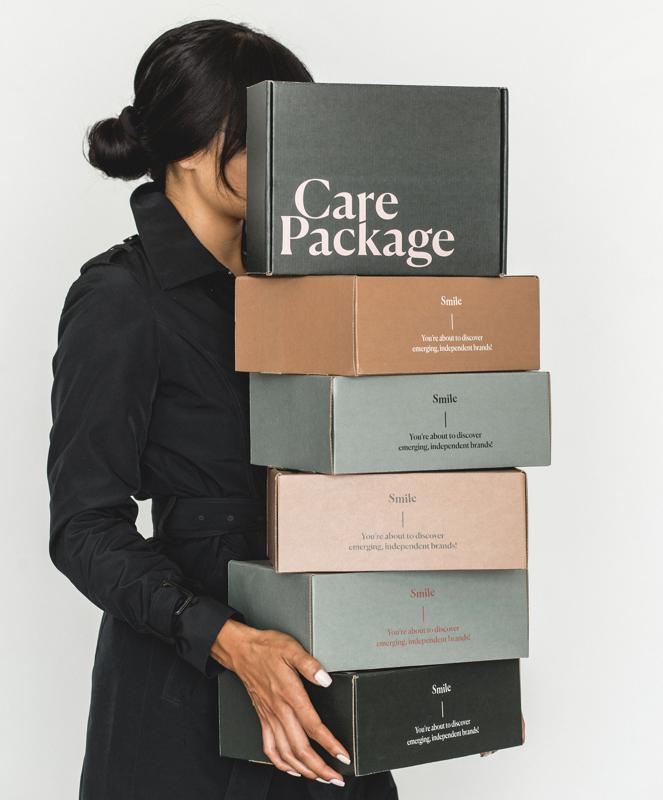 Care Package supports small businesses