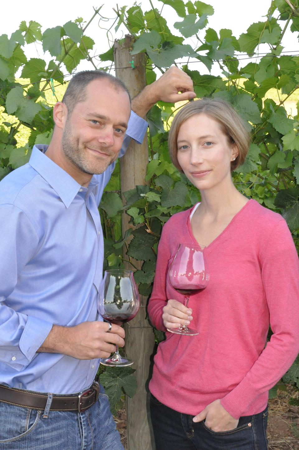 Alex and Alison Sokol Blosser are co-presidents of the family winery in Willamette Valley