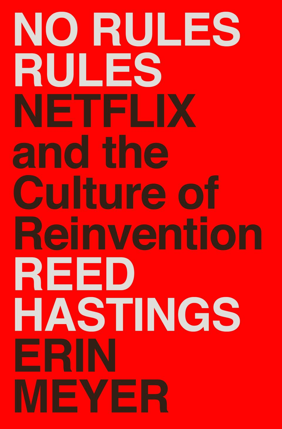 No Rules Rules Netflix Penguin Random House