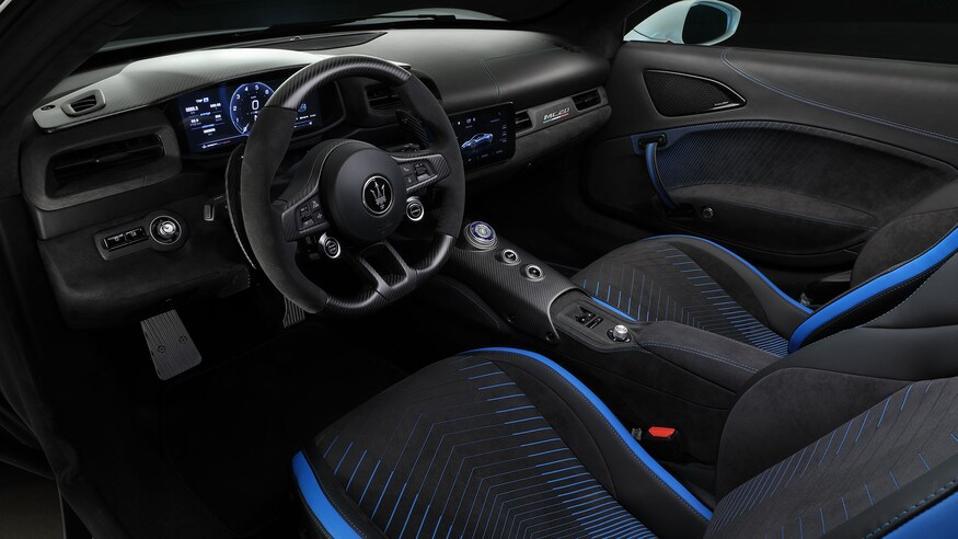 Maserati M60 cockpit