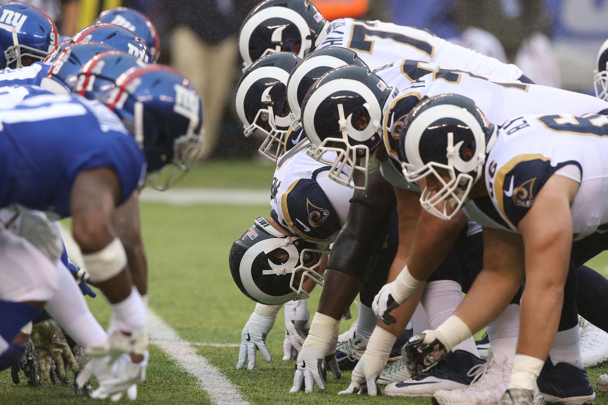 Giants vs. Rams