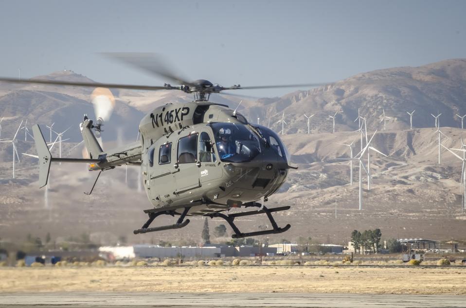 An NTPS Eurocopter EC-145.
