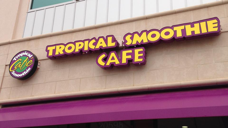 Tropical smoothie cafe llcp acquisition restaurant