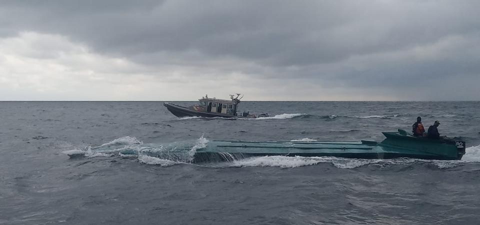 Low profile vessel (LPV), aka Narco Submarine or Semi-submersible