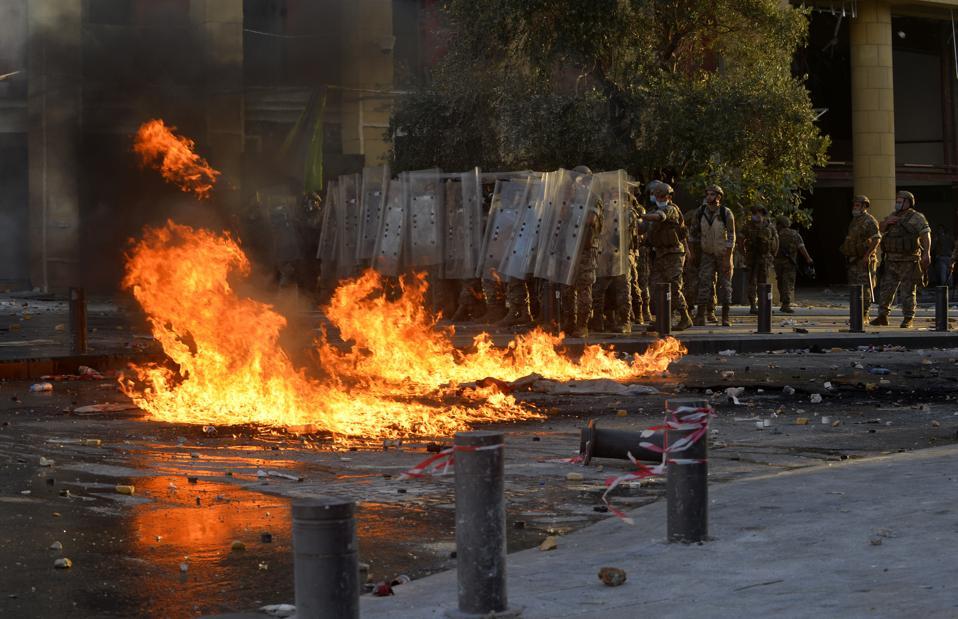 Anti-government protest in Lebanon