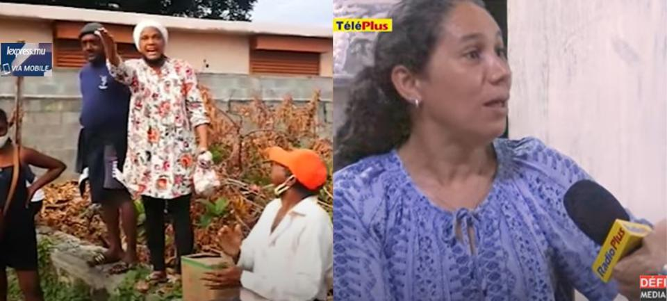 Mahebourg resident, Dominique Veerasamy (L), and wife of missing Mauritian tugboat captain, Mariam Bheenick (R) have been prominently viewed in local media, as the human faces of how the oil spill tragedy is disproportionately impacting women across the island.