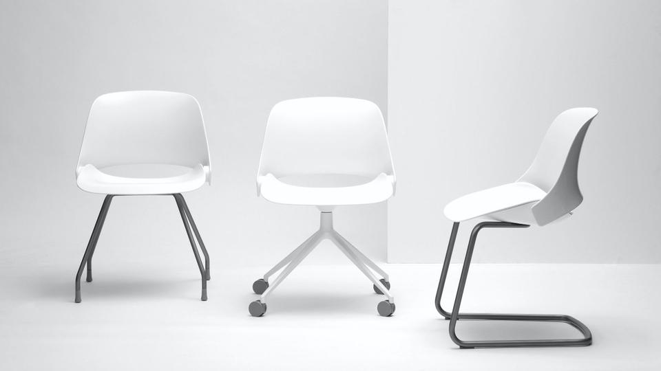 Trea chairs, three configurations