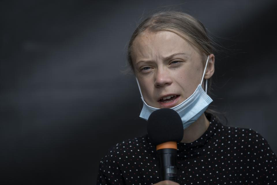 Exercise for beginners: Greta Thunberg Meets With Angela Merkel In Berlin