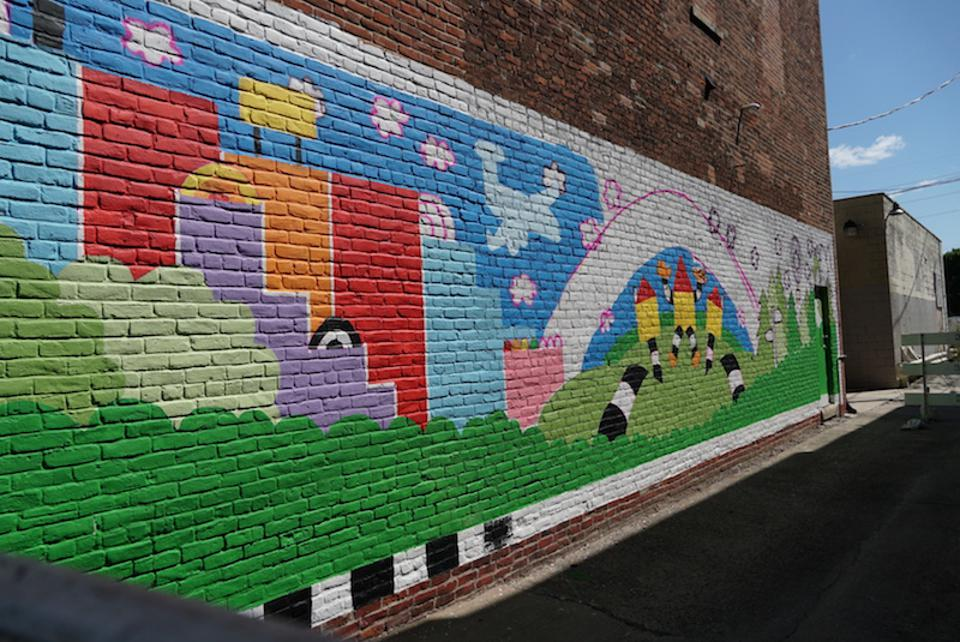 The ″Make It Your Own Mural Fest″ is an initiative by the Northeast Indiana Regional Partnership, which is promoting this part of the state as a creative hub.
