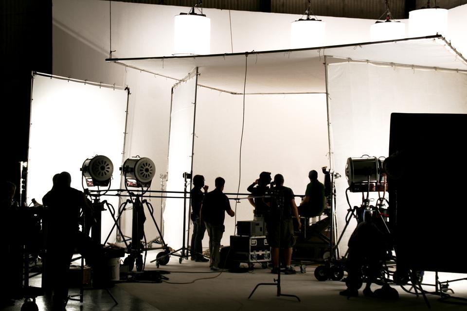 Film production set.