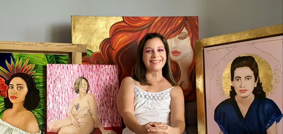 Puerto Rican artist, Susan Olivera