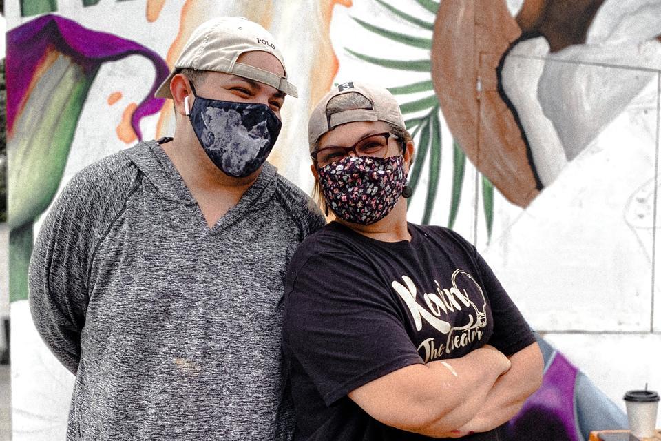 Kevin Rivera (Kevin the Creator) and Carmen N. Vázquez Cintrón