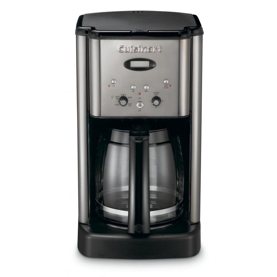 Cuisinart Brew Central 12-Cup Stainless Steel Drip Coffee Maker