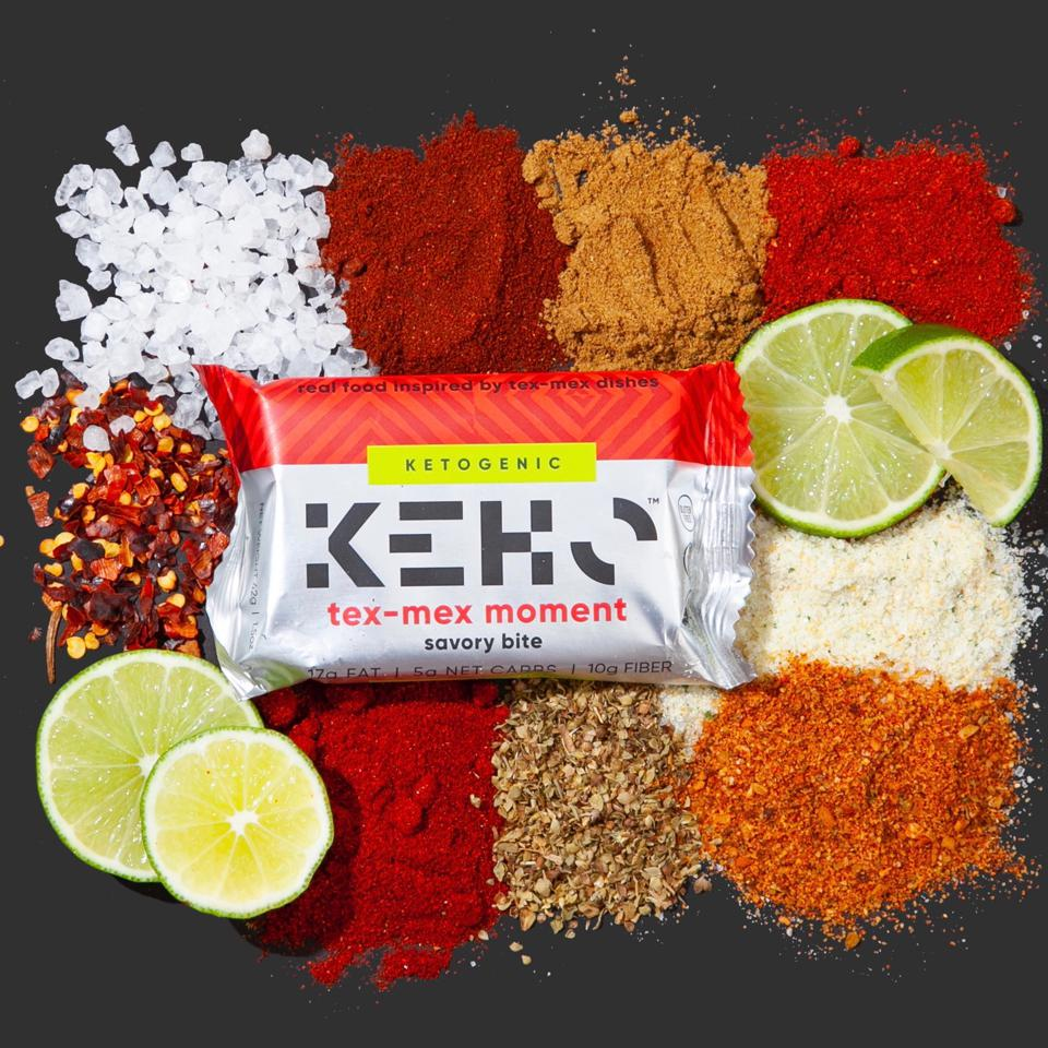 KEHO is made of whole ingredients - nuts, veggies, salad-quality oils, real herbs & spices.