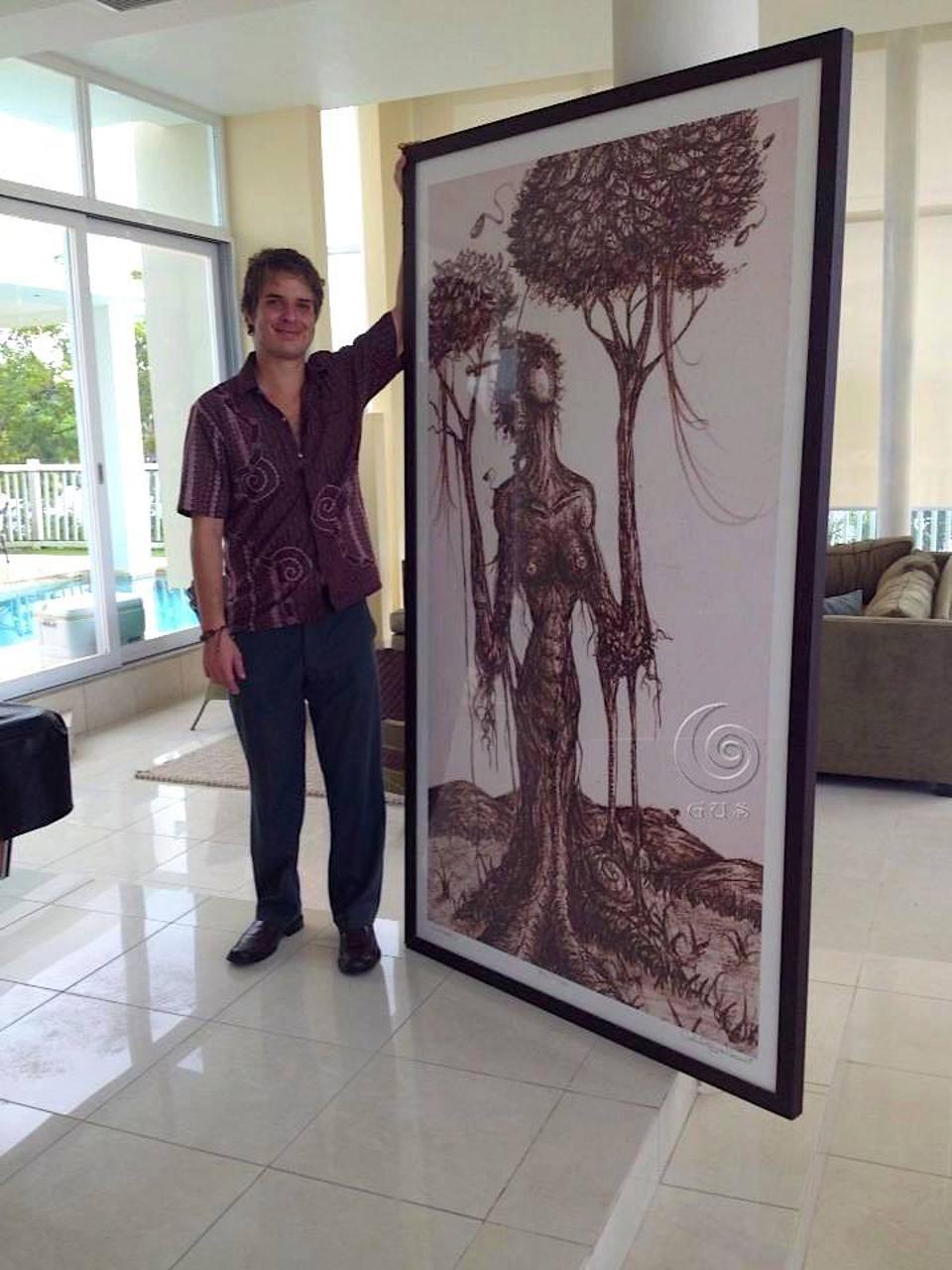 Puerto Rican artist Gustavo Adolfo