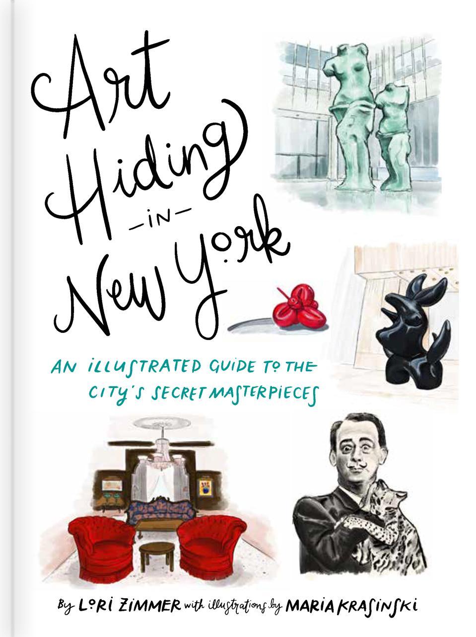 ″Art Hiding in New York″ cover.