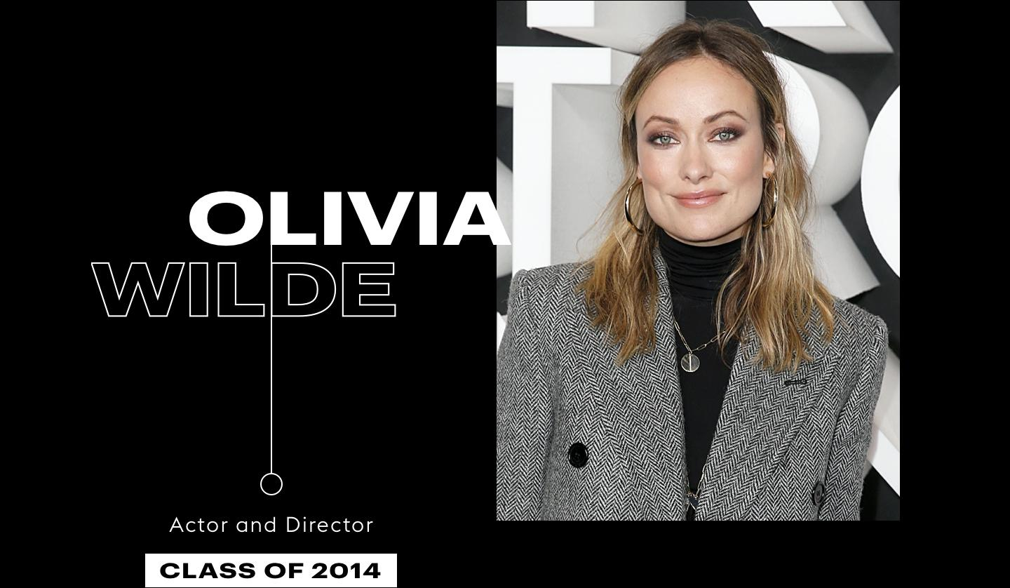 Olivia Wilde, Actor and Director, Class of 2014