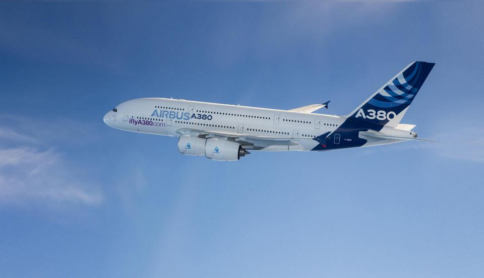 Airbus worked with tech company Altria to reduce the A380's weight.