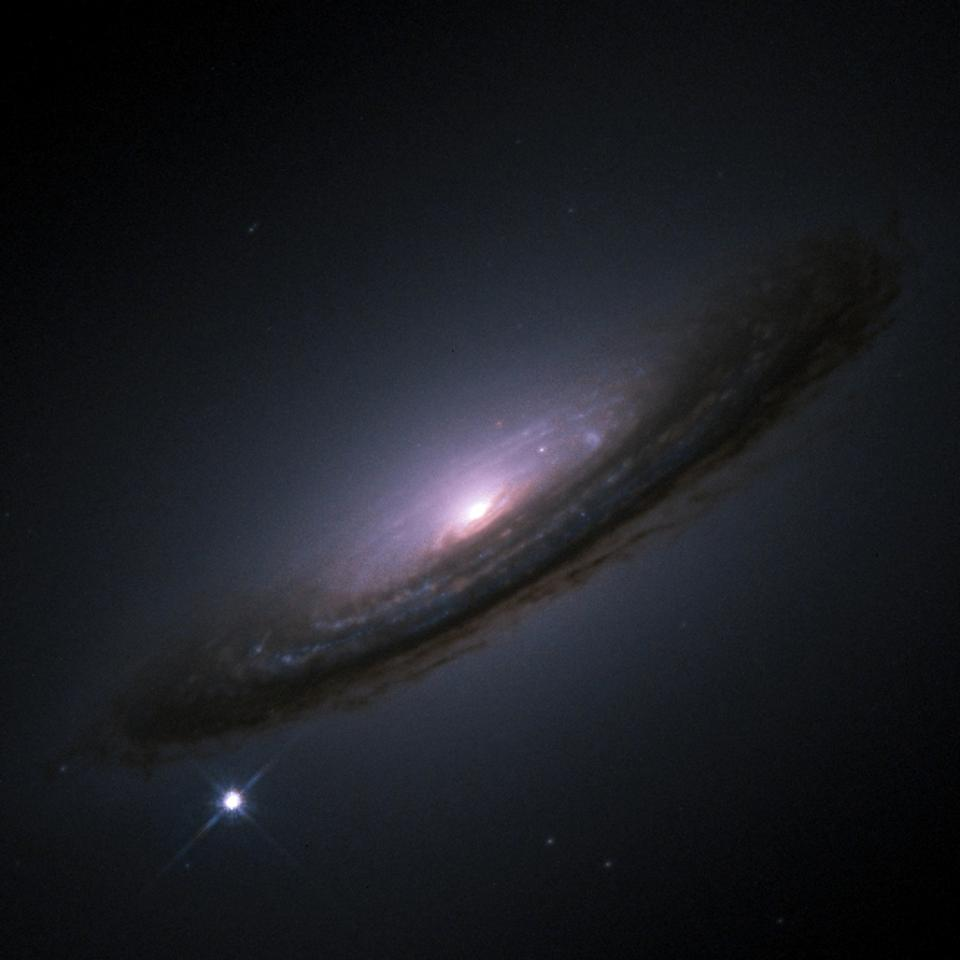 A supernova appeared in the galaxy NGC 4526 in 1994.