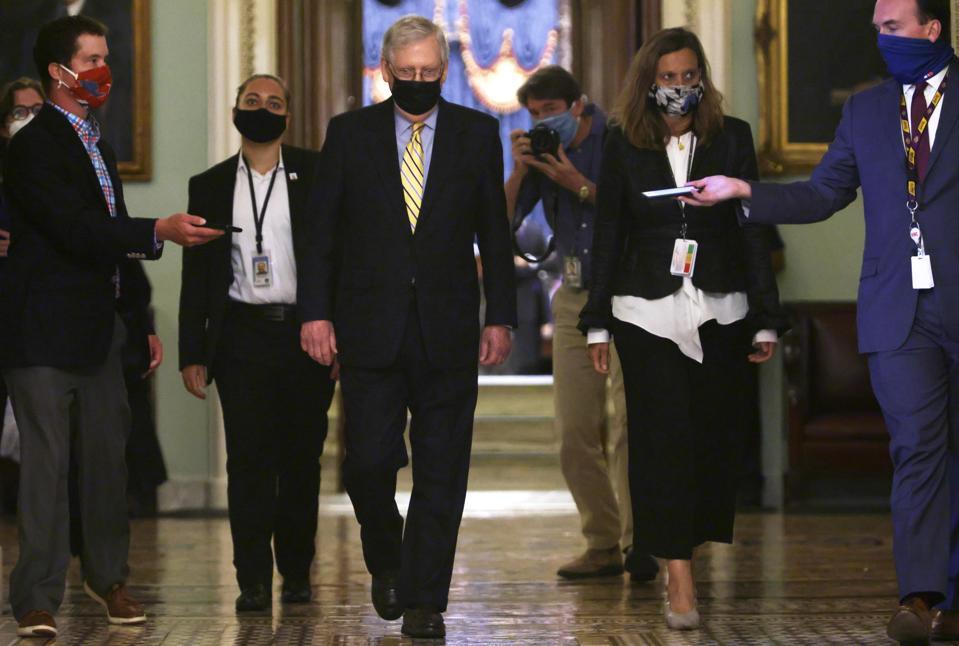 Senate Democrats Block Procedural Vote On COVID-19 Aid Package
