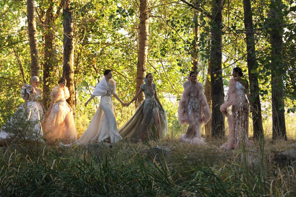 Elie Saab new autumn winter 2020-21 Haute Couture Collection