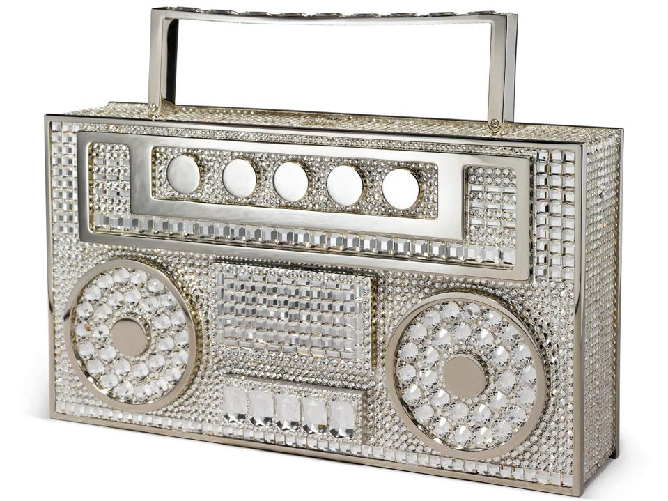 Judith Leiber Couture ″Disco Boombox″ handbag that sold for $7,560