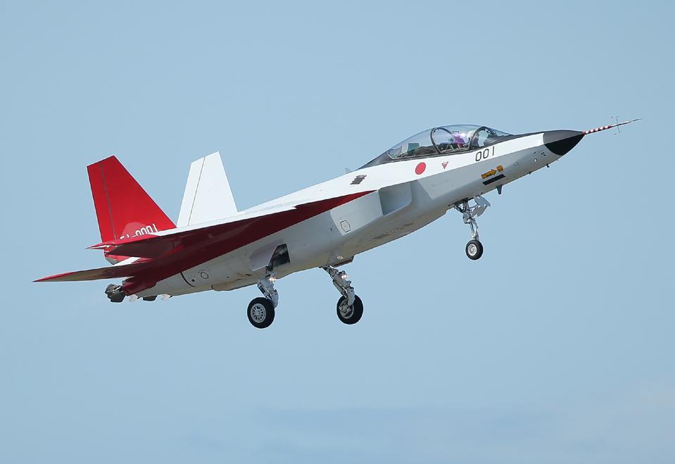 JAPAN-DEFENCE-TECHNOLOGY-AVIATION