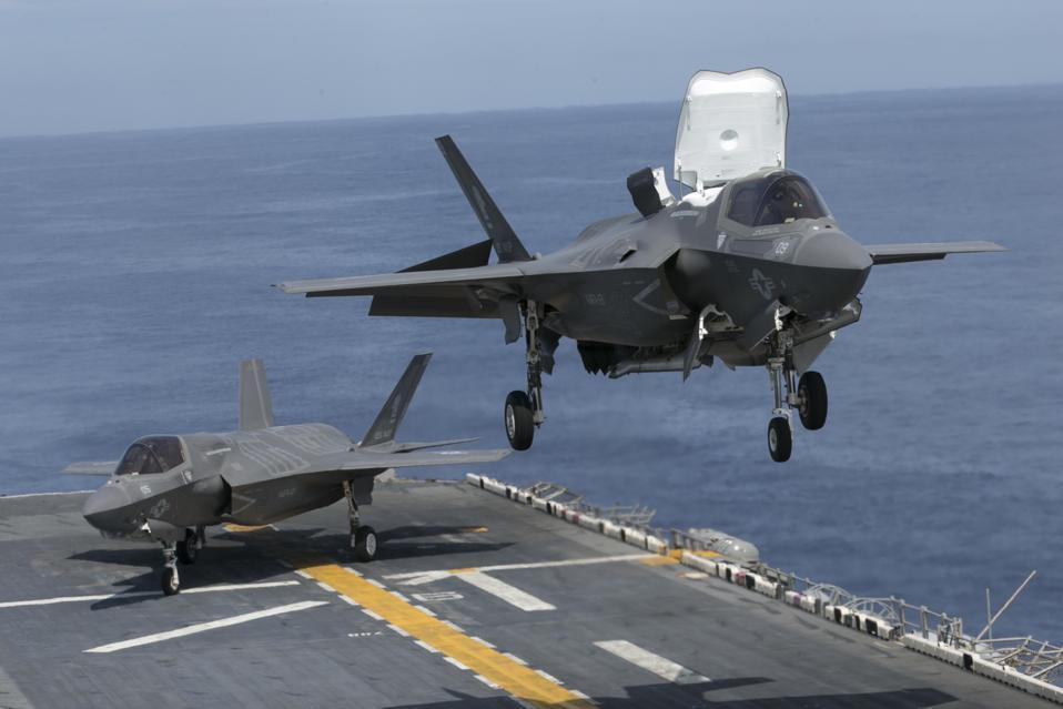 F-35B, USS Wasp, US Navy,